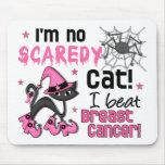 Brustkrebs-Überlebender Halloweens 2 Mauspads