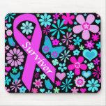 Brustkrebs-Überlebender Mousepad