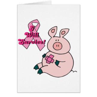 Brustkrebs überlebt Schwein Karte