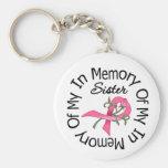 Brustkrebs zum Gedenken an meine Schwester (Rosen- Schlüsselbänder