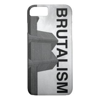 Brutalism-Theater-Telefon-Kasten iPhone 8/7 Hülle