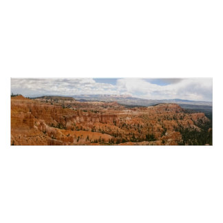 Bryce Schlucht-Amphitheater-Panorama Poster
