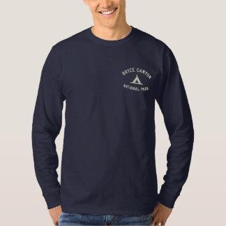 Bryce Schlucht-Nationalpark Besticktes Langarmshirt