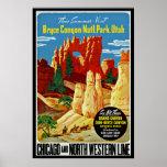 Bryce Schlucht-Nationalpark Posterdruck