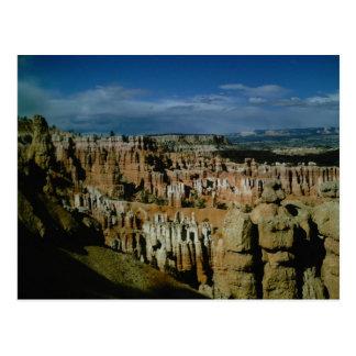 Bryce Schlucht-Nationalpark Postkarte