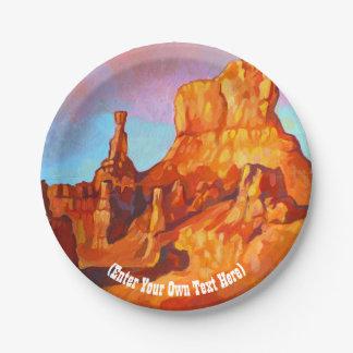 Bryce Schlucht-Nationalpark - Utah Pappteller