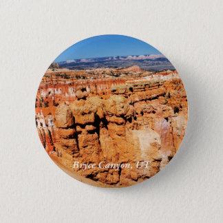 Bryce Schlucht, Utah-Landschaft Runder Button 5,7 Cm