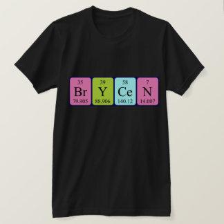Brycen Namen-Shirt periodischer Tabelle T-Shirt