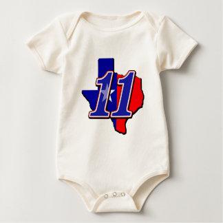 BS11flag Baby Strampler
