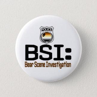 BSI:  Bärn-Szenen-Untersuchung Runder Button 5,1 Cm