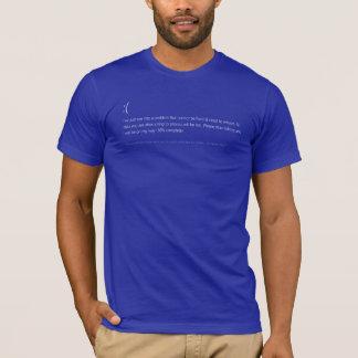 BSoD blauer T - Shirt des Todes - ES