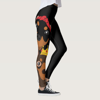 BT2MPS BvsT Miniaturpinscher-minimale Leggings