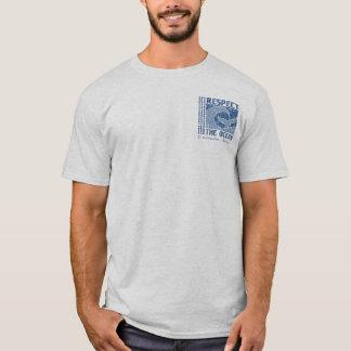 BT321 - Respektieren Sie den Ozean, schützen Sie T-Shirt