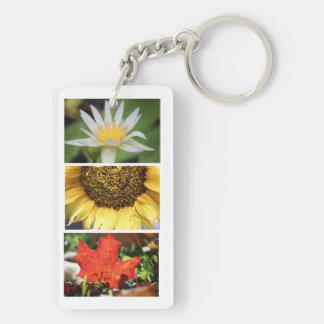 Btexpress Natur-Fotografie-Anhänger-Schlüsselkette Schlüsselanhänger