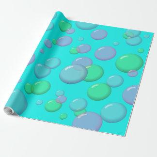 Bubblegum Cartoon-Blasen Geschenkpapier