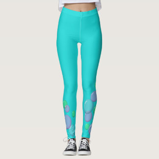 Bubblegum Cartoon-Blasen Leggings