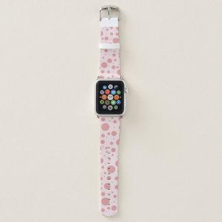 Bubblegum rosa Tupfen Apple Watch Armband