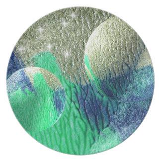 Bubbles Melaminteller