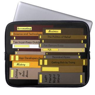 Buch-akademische lernenBildungs-Lesung Laptopschutzhülle