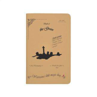 Buch des Grabs Taschennotizbuch