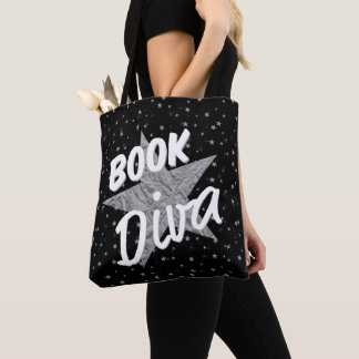 Buch-Diva ganz über Stern-Taschen-Tasche Tasche