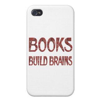 Buch-Gestalt-Gehirne iPhone 4/4S Hülle