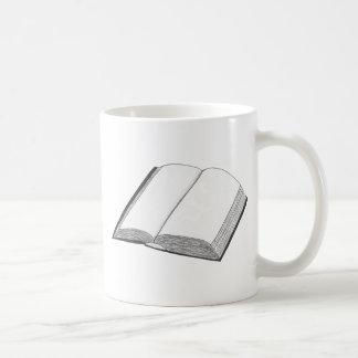 Buch Kaffeetasse