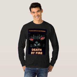 Buch-Kunst durch K.D. Kromminga--Tod durch Feuer T-Shirt