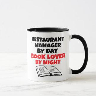 Buch-Liebhaber-Restaurant-Manager Tasse