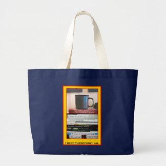Buch-Liebhaber-Tasche Jumbo Stoffbeutel