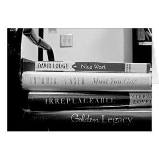 Buch-LKW-Bibliothekar-Ruhestand/Abschiedskarte Karte