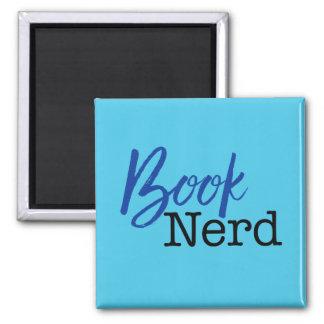 Buch-Nerd-Magnet Quadratischer Magnet