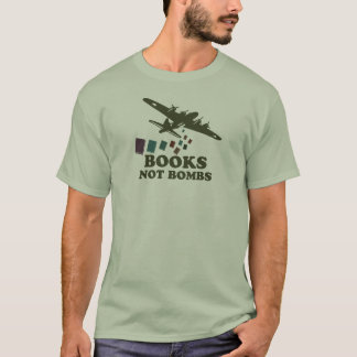 Buch-nicht Bomben T-Shirt