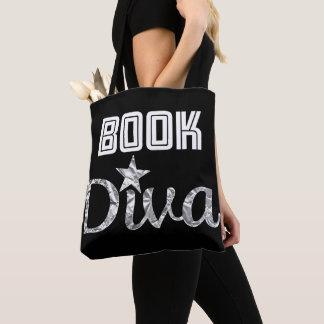 Buch-silberne Diva-Taschen-Tasche Tasche