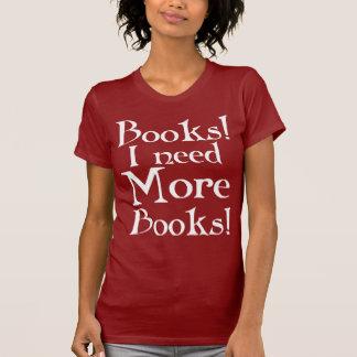 Buch-Süchtig-T - Shirt