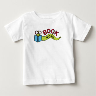 Buch-Wurm Baby T-shirt