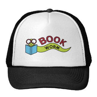 Buch-Wurm Retrokultcap
