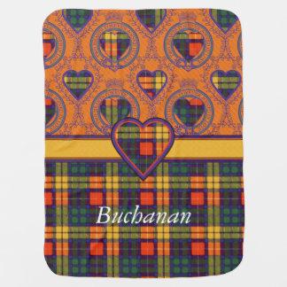 Buchanan-Clan karierter schottischer Tartan Babydecke