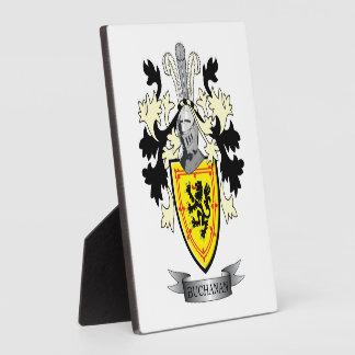Buchanan-Familienwappen-Wappen Fotoplatte