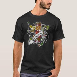 Buchanantartan-Löwe T-Shirt