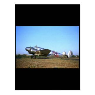 Buche 18, 1953, Sonoma, CA_Classic Luftfahrt Postkarte