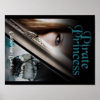 Bucheinband Piraten-Prinzessin- Poster