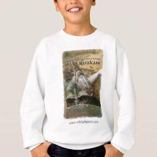 Bucheinband-Viking-Sturzhelm mit Hörnern Sweatshirt