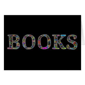 Bücher: ein Entwurf für Buchliebhaber Karte
