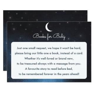 Bücher für Baby sternenklare NachtBabyparty-Karte Karte