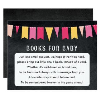 Bücher für Baby Tafel-Babyparty-Spiel-Karte Karte