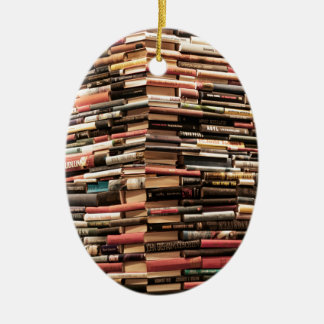 Bücher Keramik Ornament
