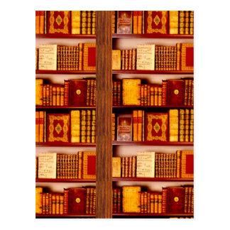 Bücher Postkarte