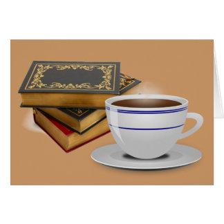 Bücher u. Kaffee: Bedarf sage ich mehr? Karte