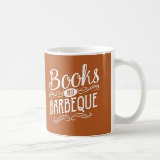 Bücher und Grill Tasse